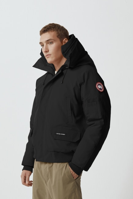 Chilliwack Bomber Jacket with Hood Trim