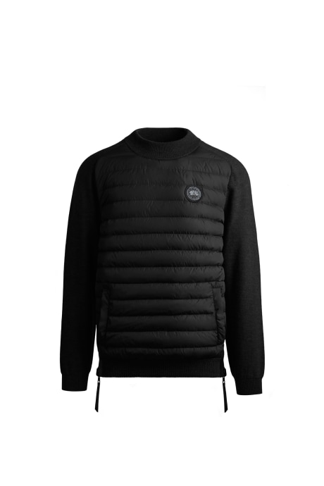 Shop the men's HyBridge Knit Reversible Pullover Black Label