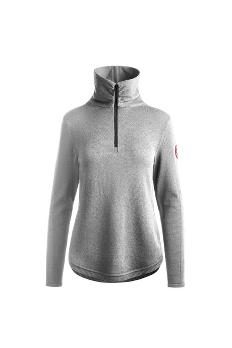 Shop the women's Fairhaven ¼ Zip Sweater