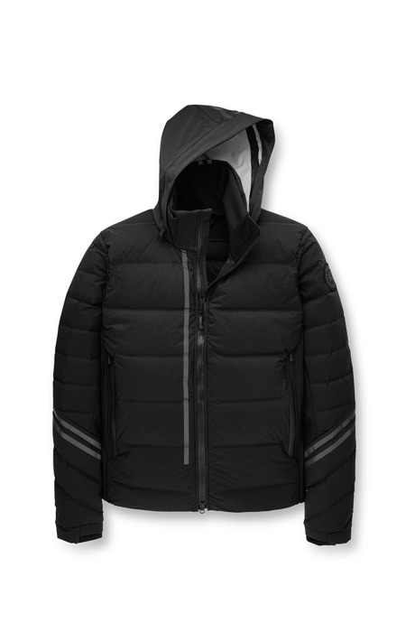 Shop the men's HyBridge CW Down Jacket Black Label