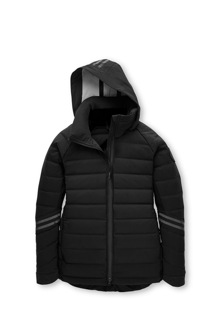 Shop the women's HyBridge CW Down Jacket Black Label