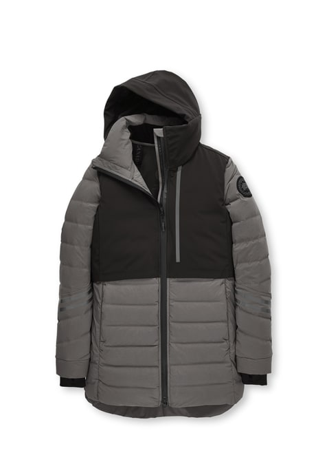 Shop the women's HyBridge CW Element Down Jacket Black Label
