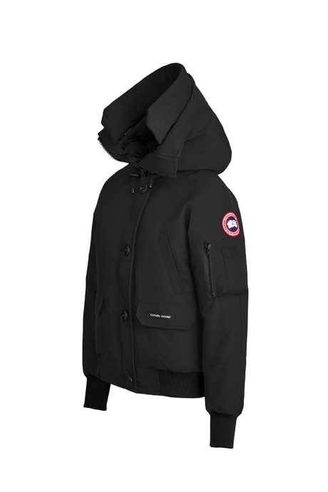Shop the women's Chilliwack Bomber with Hood Trim