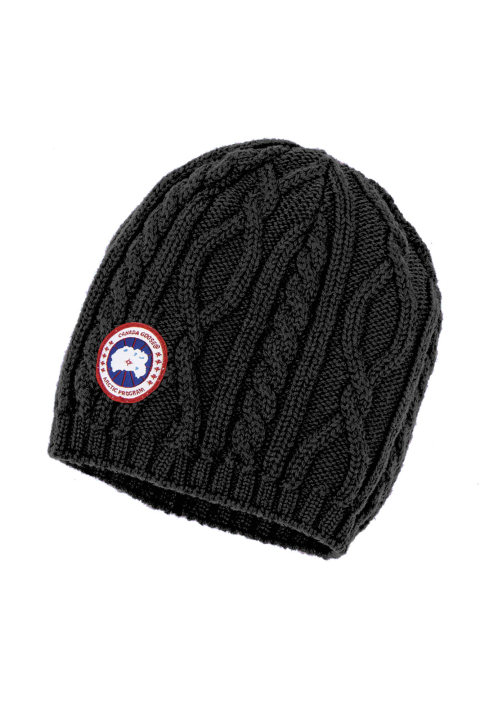 扭绳花纹针织便帽 | Canada Goose