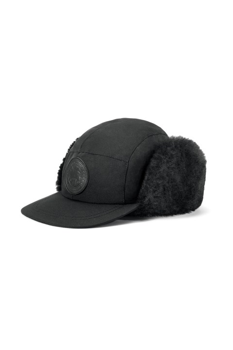 Shearling Trapper Hat Black Label | Canada Goose