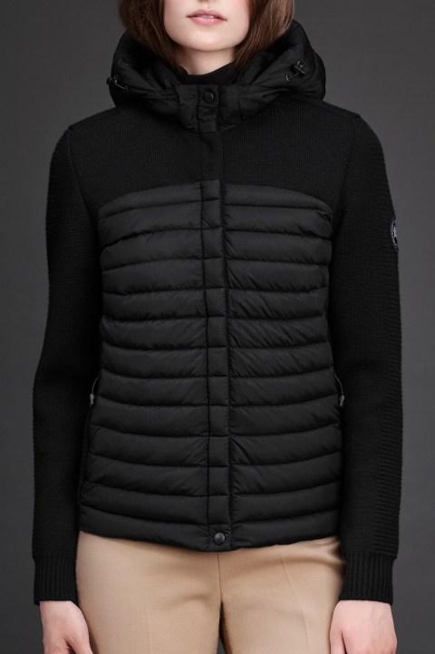 Manteau à Capuchon en tricot HyBridge Femmes | Canada Goose