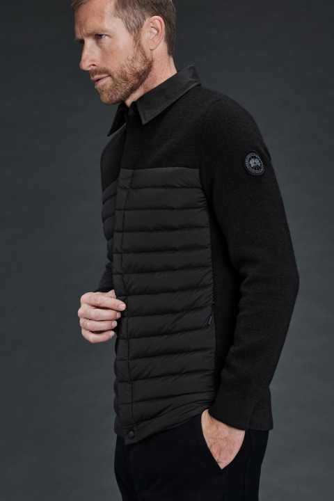 Men's HyBridge Knit Shirt | Canada Goose