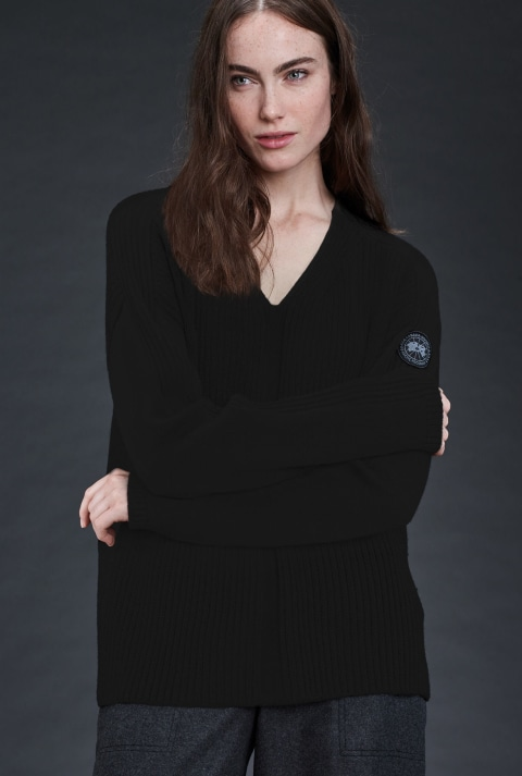 Women's Kimberley V Neck Sweater | Canada Goose