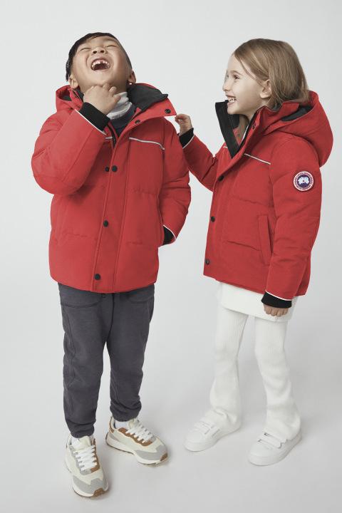 Enfants Parka Snowy Owl | Canada Goose