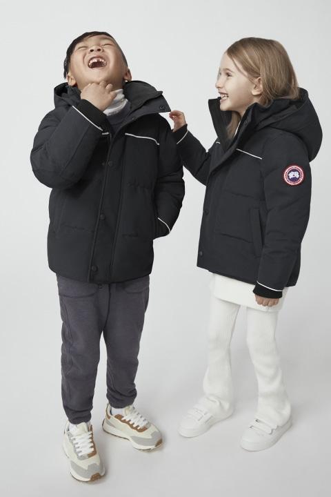 Unisex Canada Goose Kids Snowy Owl Parka