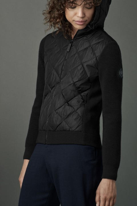 Hybridge Quilted Knit Hoody | Canada Goose