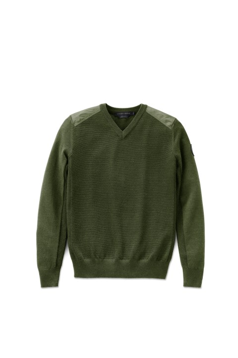 Men's McLeod V Neck Sweater | Canada Goose
