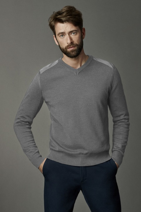 Men's McLeod V Neck Sweater | Canada Goose