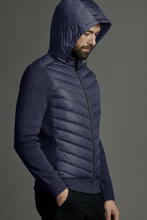 Men's HyBridge Quilted Knit Hoody | Canada Goose