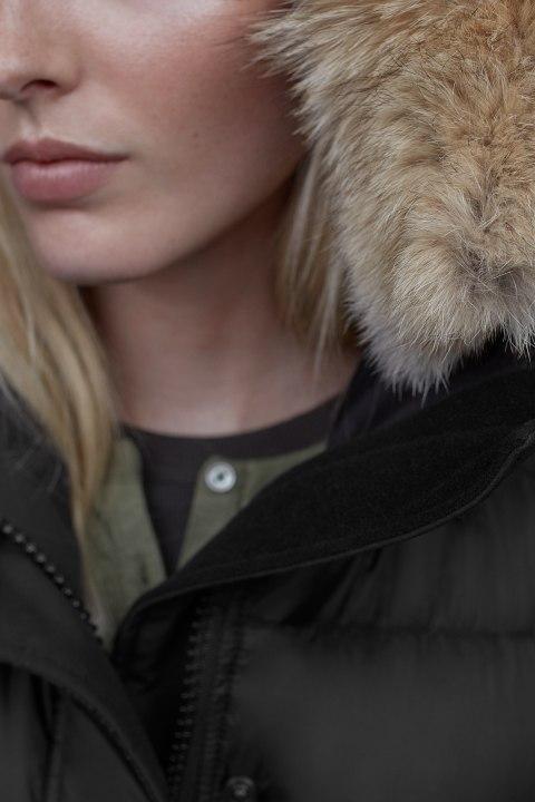 Women's Rowley Parka Black Label   Canada Goose