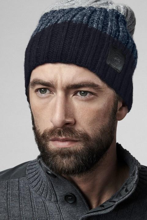 Bonnet en tricot côtelé tombant pour homme | Canada Goose