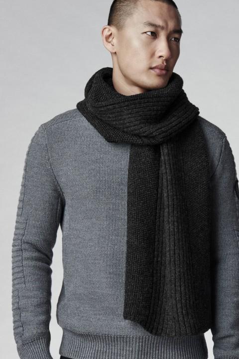 Écharpe en tricot texturé pour hommes | Canada Goose