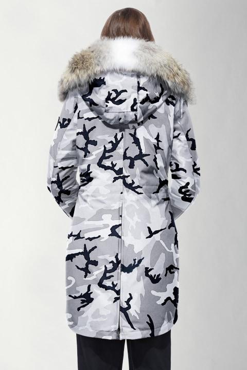 Rossclair Parka Black Label   Canada Goose