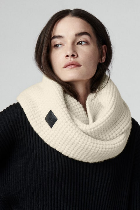 Women's Waffle Infinity Scarf | Canada Goose