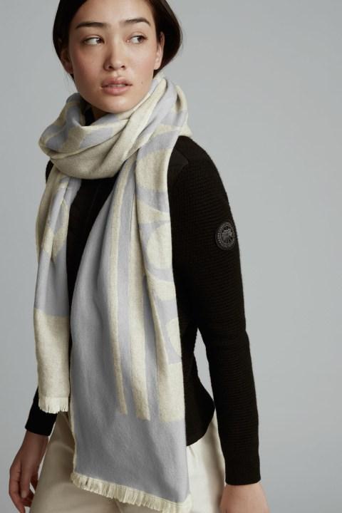 Écharpe à logo tissé pour femmes | Canada Goose