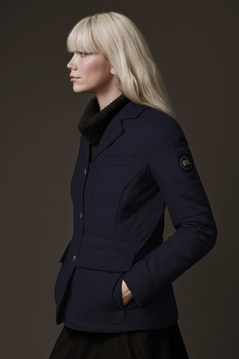 Blazer W1 pour femme x Henry Poole | Canada Goose