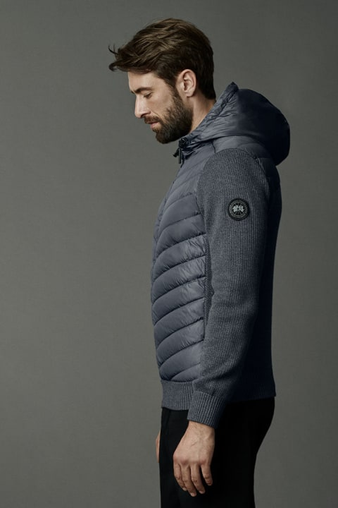 HyBridge Strick-Kapuzenjacke Black Label | Canada Goose
