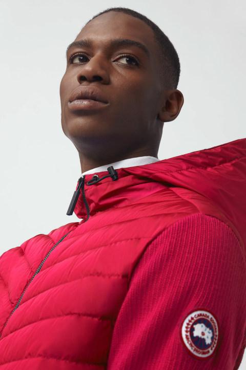 Blouson à capuche en tricot HyBridge pour hommes | Canada Goose