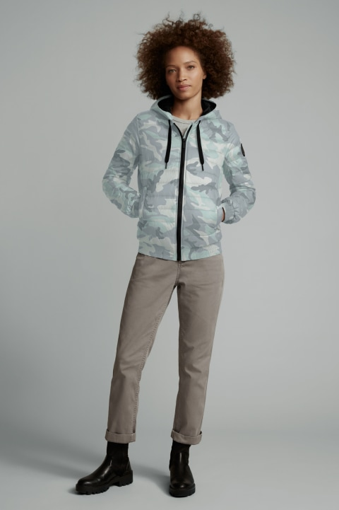 Women's Richmond Hoody Black Label Print | Canada Goose