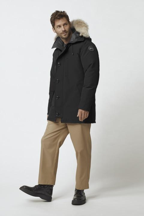 CANADA GOOSE MENS Chateau Black Label Parka Coat XL Black 44