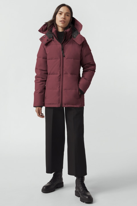 Canada Goose Ladies Chelsea Parka Red 3804L 11 | OUTBACK