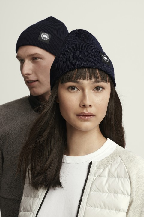 轻量美利奴羊毛毛线帽 | Canada Goose