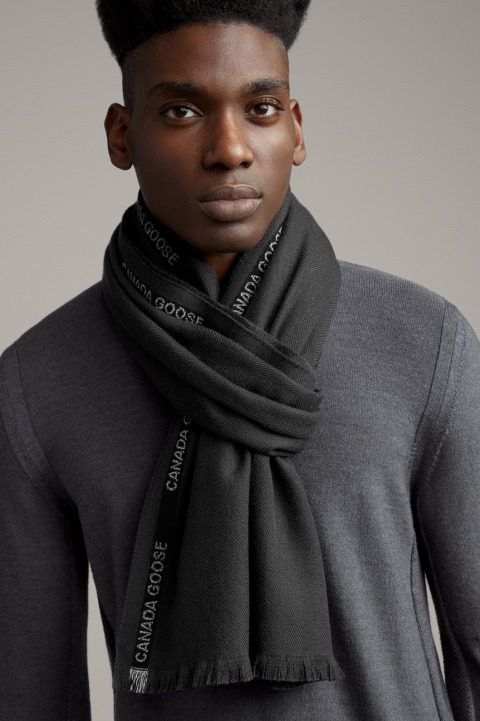 编织镶边围巾 | Canada Goose