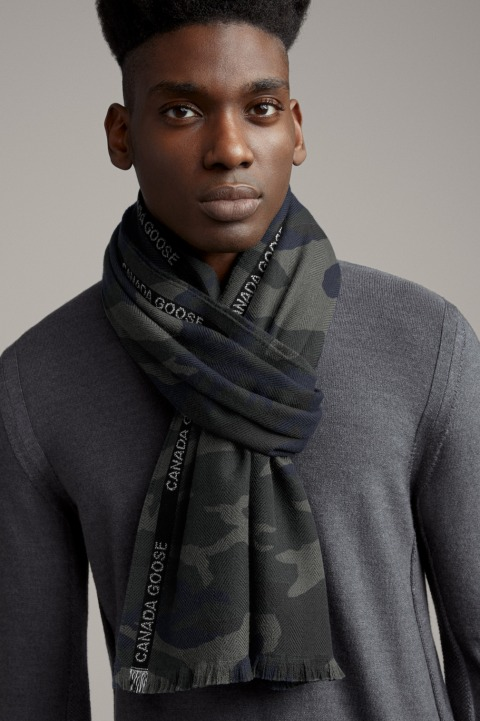 Woven Selvedge Scarf Print by Canada Goose