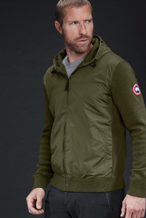 Manteau à capuchon WindBridge pour hommes | Canada Goose