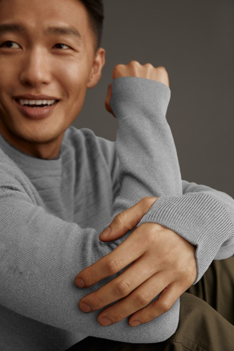 Chandail à col rond Conway pour hommes | Canada Goose