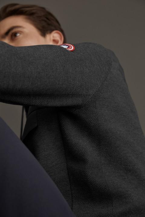 Anorak en tricot HyBridge pour hommes | Canada Goose