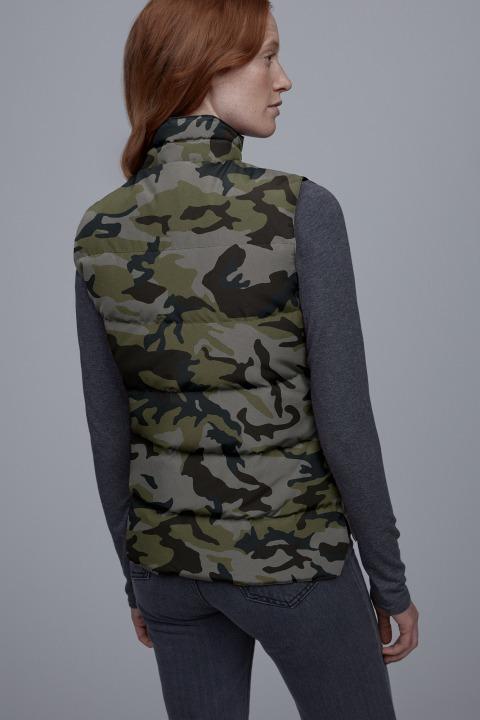 Giubbino senza maniche Freestyle stampato da donna | Canada Goose