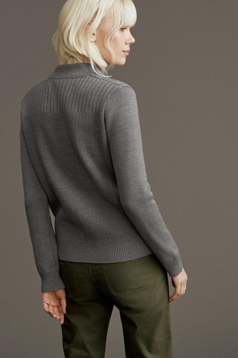 Blouson aviateur en tricot Lennox pour femmes | Canada Goose
