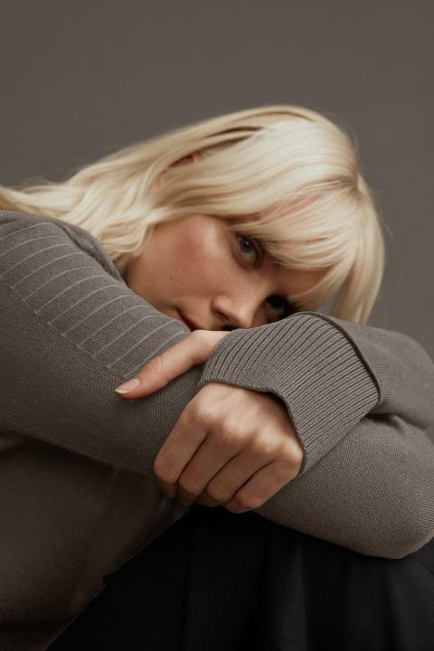 Pull à col ras du cou Elmvale Black Label pour femmes | Canada Goose