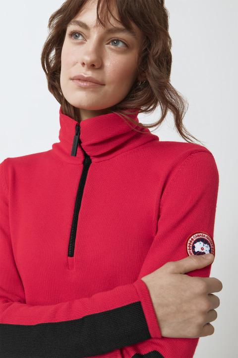 Fairhaven Pullover mit 1/4-Reißverschluss für Damen | Canada Goose