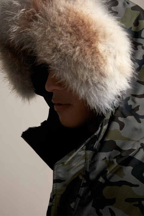 Men's Expedition Parka Fusion Fit Print | Canada Goose