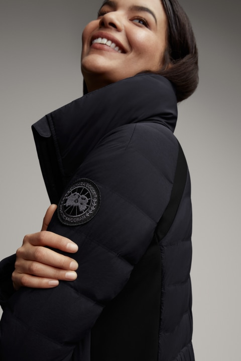 Women's HyBridge CW Jacket Black Label   Canada Goose
