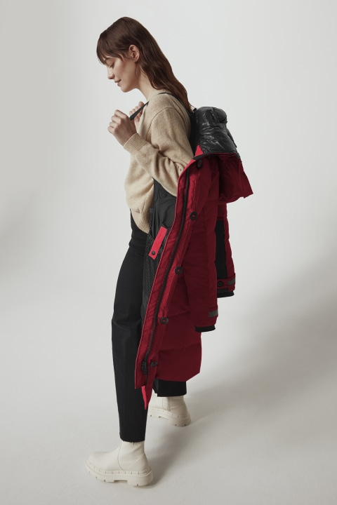 Parka Aldridge Black Label da donna | Canada Goose