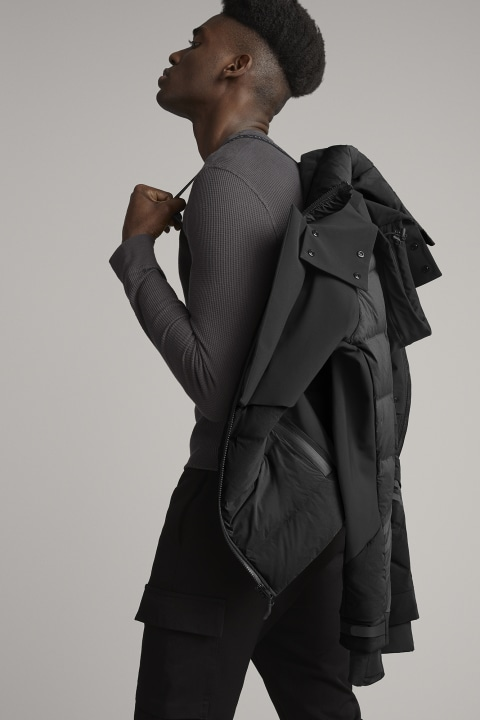 Men's HyBridge CW Element Jacket Black Label | Canada Goose