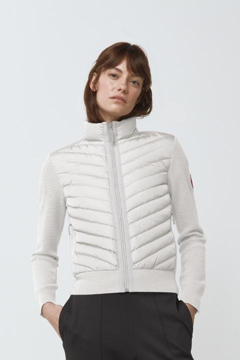 Giacca in maglia HyBridge da donna | Canada Goose