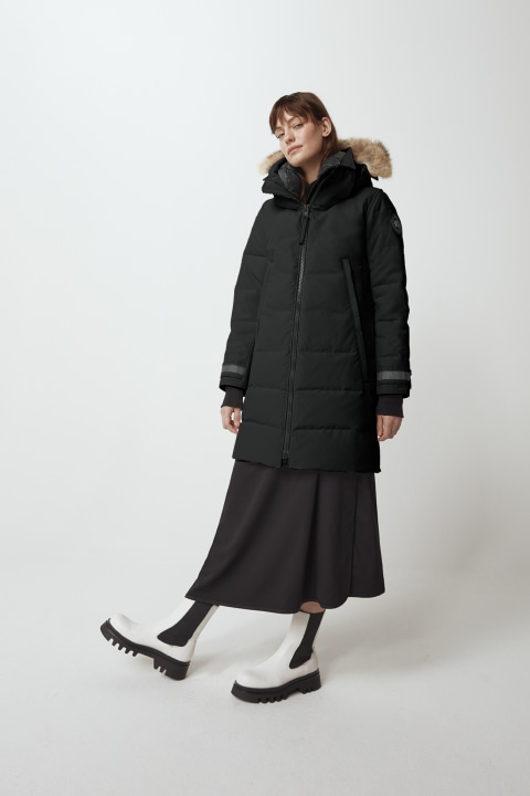 Parka Kenton Black Label da donna | Canada Goose