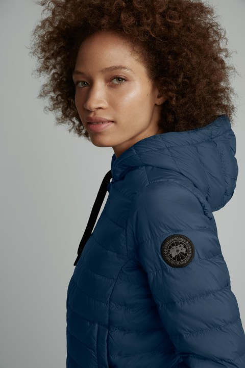 Giubbino con cappuccio Richmond Black Label da donna | Canada Goose