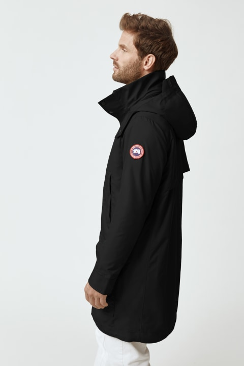 Trench-coat Crew pour hommes | Canada Goose