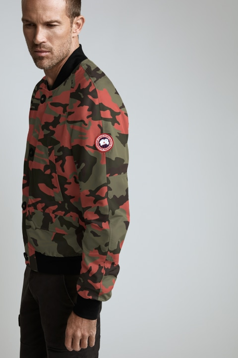 Blouson Aviateur Faber Imprimé pour hommes | Canada Goose