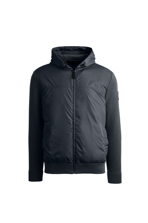 Chandail à capuchon WindBridge Black Label pour hommes | Canada Goose